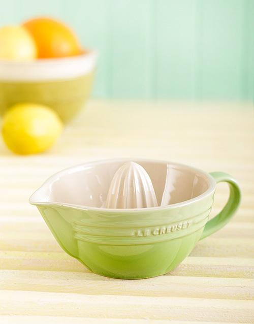 homeware: Le Creuset Citrus Juicer!