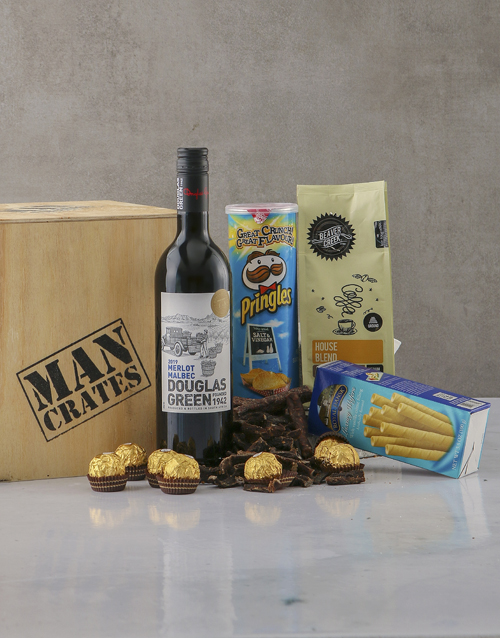 birthday: All Things Indulgent Man Crate!