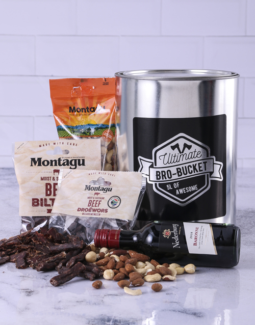 birthday: Wine & Biltong Bro Bucket!
