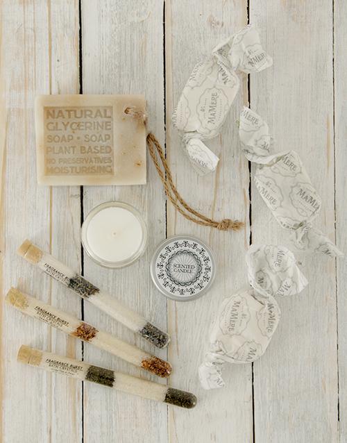 bath-and-body: Organic Bath & Nougat Gift Basket!