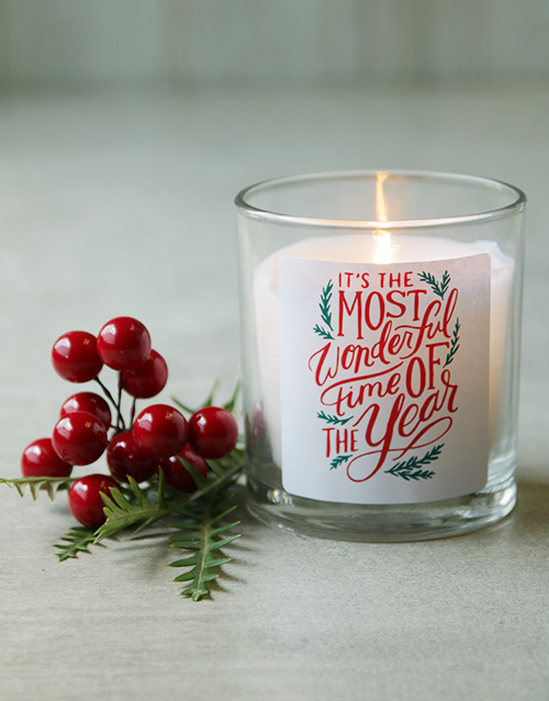 bath-and-body: Most Wonderful Time Festive Candle!