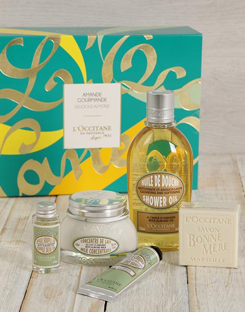 birthday: LOccitane Delicious Almond Gift Set!
