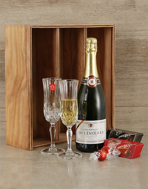 fine-alcohol: Champagne and Crystal Crate!