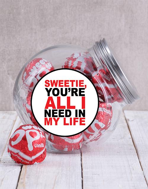 chocolate: My Sweetie Candy Jar!