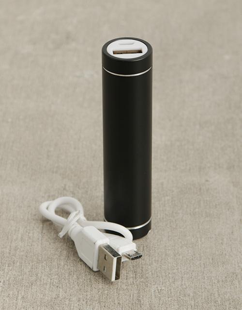 gadgets: 1800mAh Black Powerbank!