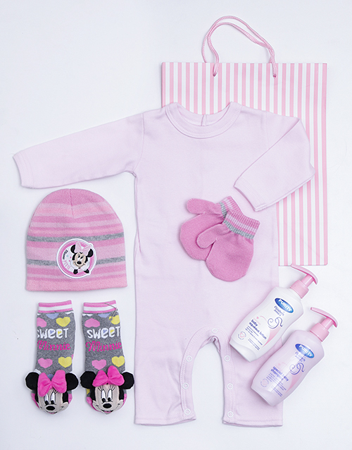 baby: Minnie Mouse Gift Set!