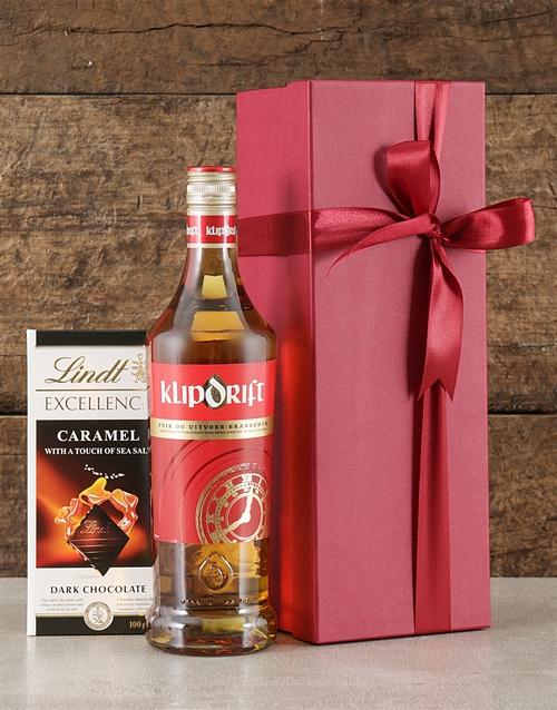 fine-alcohol: Red Box of Klipdrift!