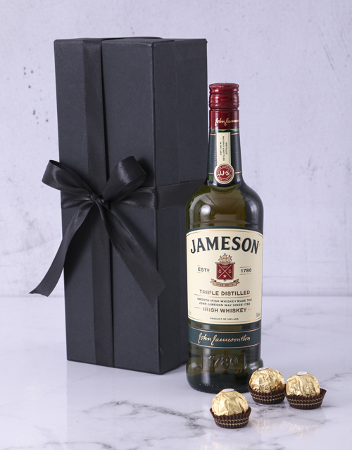valentines-day: Red Box of Jameson!