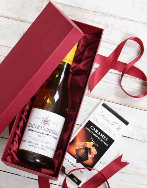 fine-alcohol: Red Box of Haute Cabriere!
