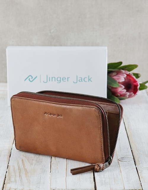 mothers-day: Tan Jinger Jack Jordan Ladies Purse!