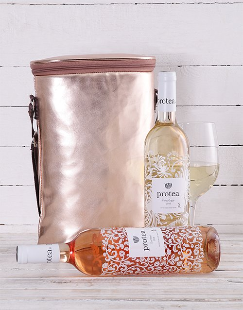 mothers-day: Rose Gold Double Wine Cooler!
