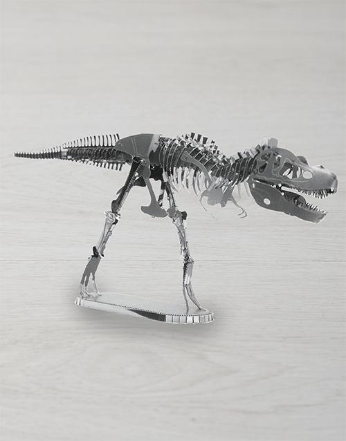 gadgets: DIY Metal Earth TRex 3D Model!