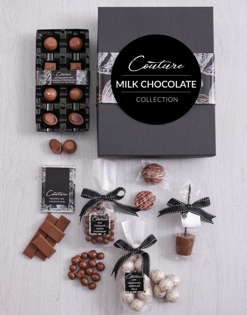 christmas: Small Milk Chocolate Couture Box!