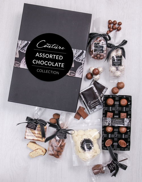 chocolate: Large Assorted Chocolate Couture Box!