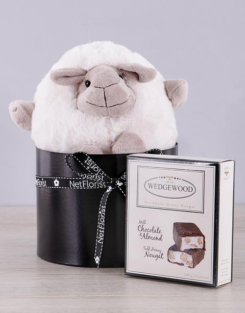 teddy-bears: Sheep and Choc Nougat Box!