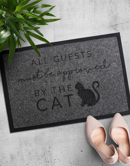 house-warming: Approved By Dog or Cat Doormat!