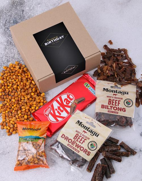 gourmet: Birthday Biltong Box!
