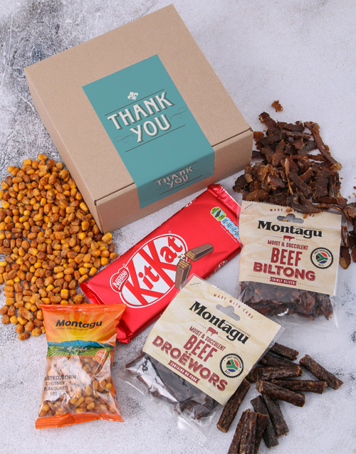 gourmet: Thank You Biltong Box!
