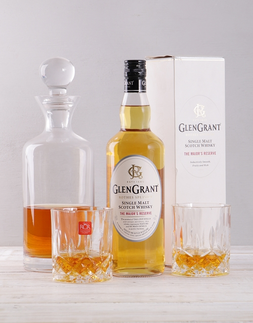 personalised: Glen Grant and Decanter Giftbox!