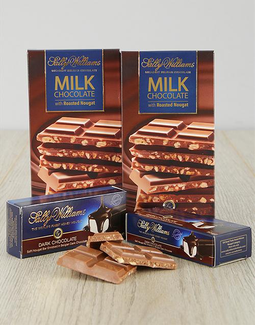 chocolate: Sally Williams Triple Treat!