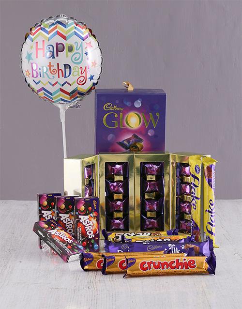 chocolate: Cadbury Happy Birthday Chocolate Hamper !