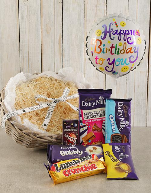 birthday: Happy Birthday Cadbury Choc Hamper!