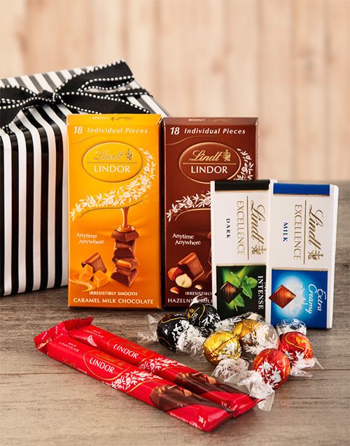 birthday: Lindt Chocolate Sensation Hamper!