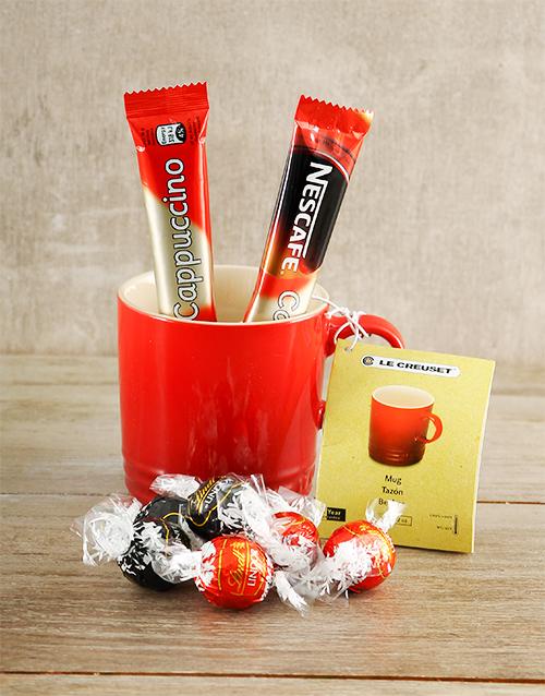 chocolate: Le Creuset and Treats Hamper!