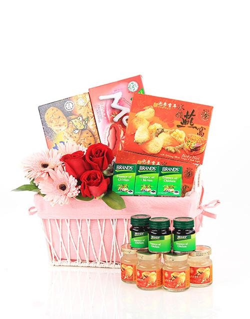 gifts: Pink of Health Get Well Basket!