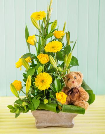 Picture of New Baby Flower Arrangement!
