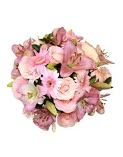 Picture of Classic Pink and White Floral Mix !