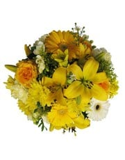 Picture of Yellow and White Bouquet!