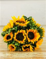 Picture of Sunflower Sunrise Bouquet!