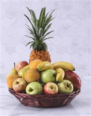 Picture of Fruit Gift Basket!
