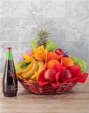Picture of Seasonal Fruit and Sparkling Juice Gift!