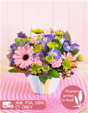 Picture of Mixed Flower Cupcake!
