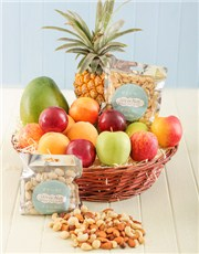 Picture of Fresh Fruit and Nut Hamper!