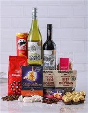 Picture of Gift Box of Wine Biltong and Chocolates!