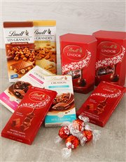 Picture of Lindt Chocolate Hamper!