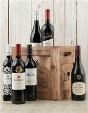 Picture of Crate of Six Red Wines!
