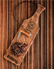 Picture of Trudeau Biltong Board with Biltong Pieces!