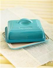 Picture of Le Creuset Butter Dish   Caribbean Blue!