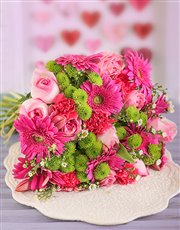 Picture of Pink Flower Power Bouquet!