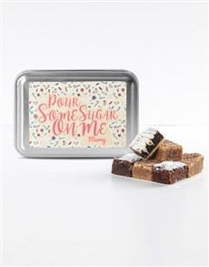 bakery: Personalised Date Night Sweet Tooth Brownie Tin!