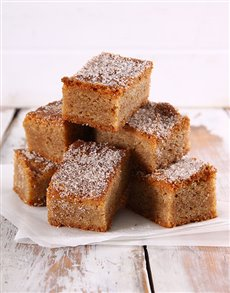 bakery: Cinnamon Sugar Blondies!