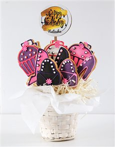 bakery: Personalised Hoity Toity Birthday Cookie Bouquet!