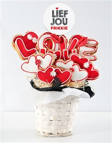 bakery: Personalised Lief jou Cookie Bouquet!