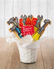 gifts: Tools For Dad Cookie Bouquet!