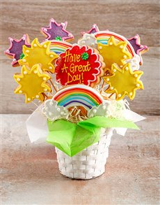 gifts: Have a Great Day Cookie Bouquet!