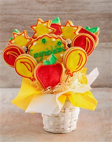bakery: Congratulations Cookie Bouquet!
